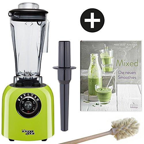 bianco di puro mixer mit reinigungsb rste und rezeptbuch smoothies online. Black Bedroom Furniture Sets. Home Design Ideas